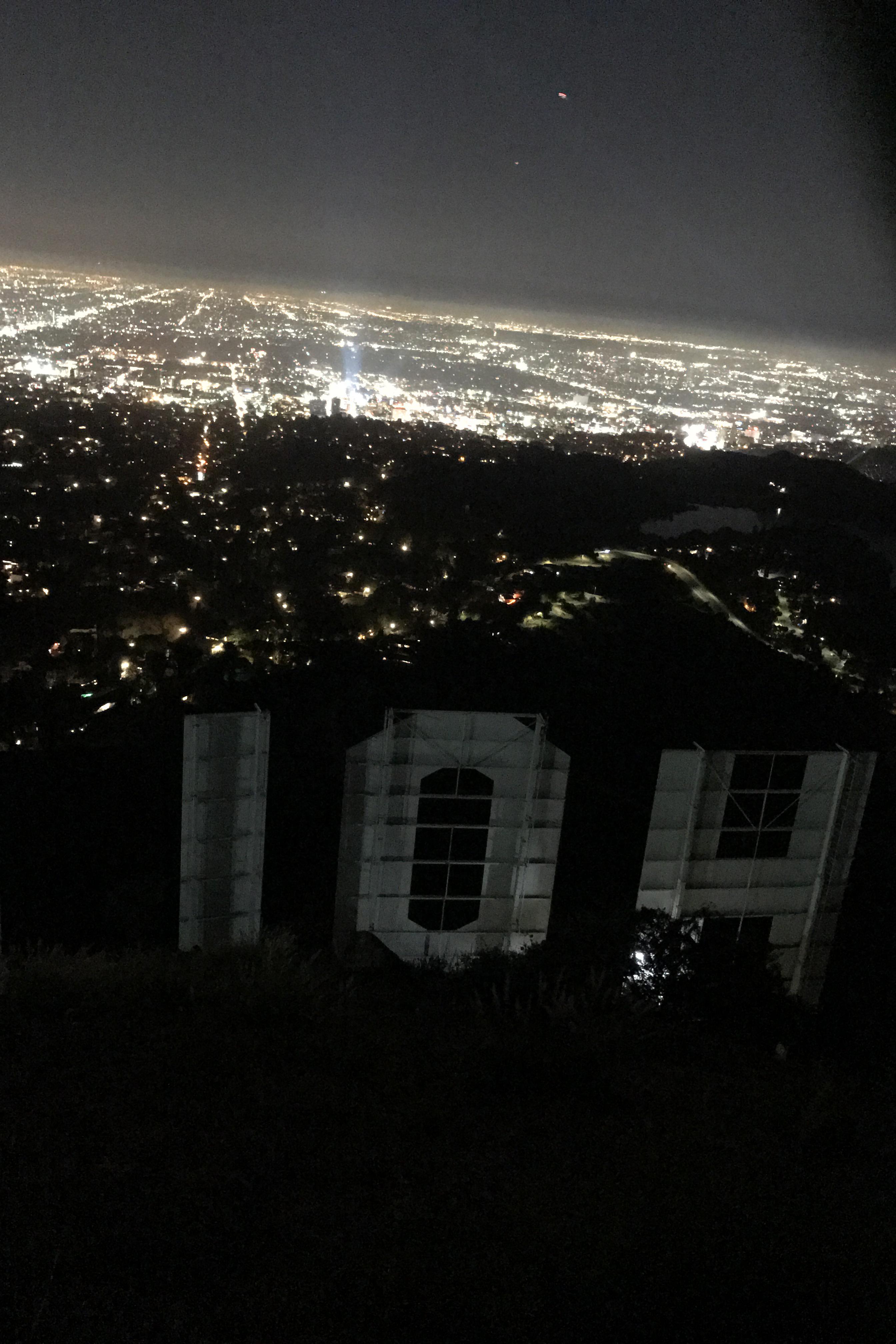 Night Walk into City Lights!
