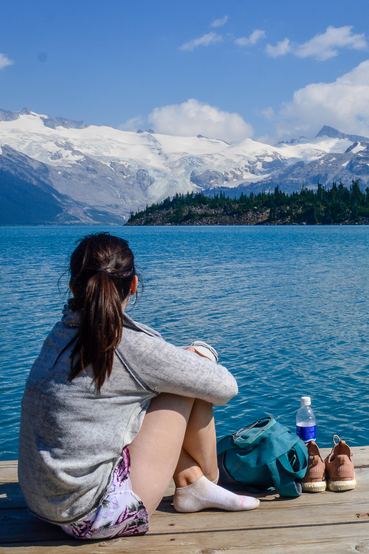 Stunning views of glaciers