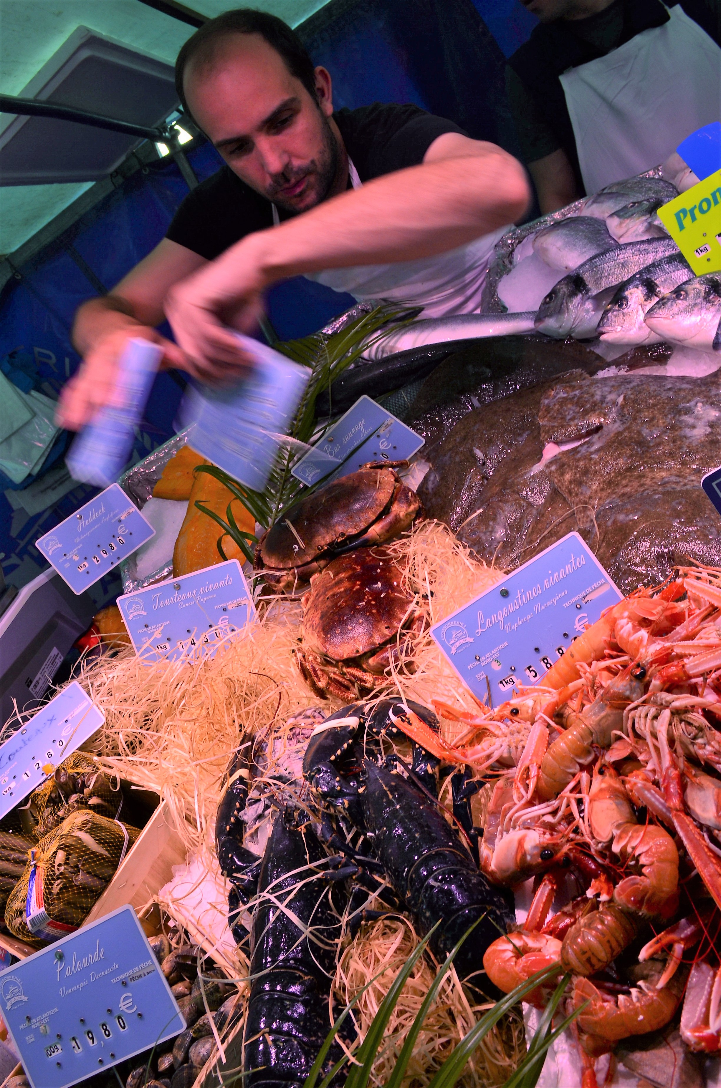 The best fish stall in the market!
