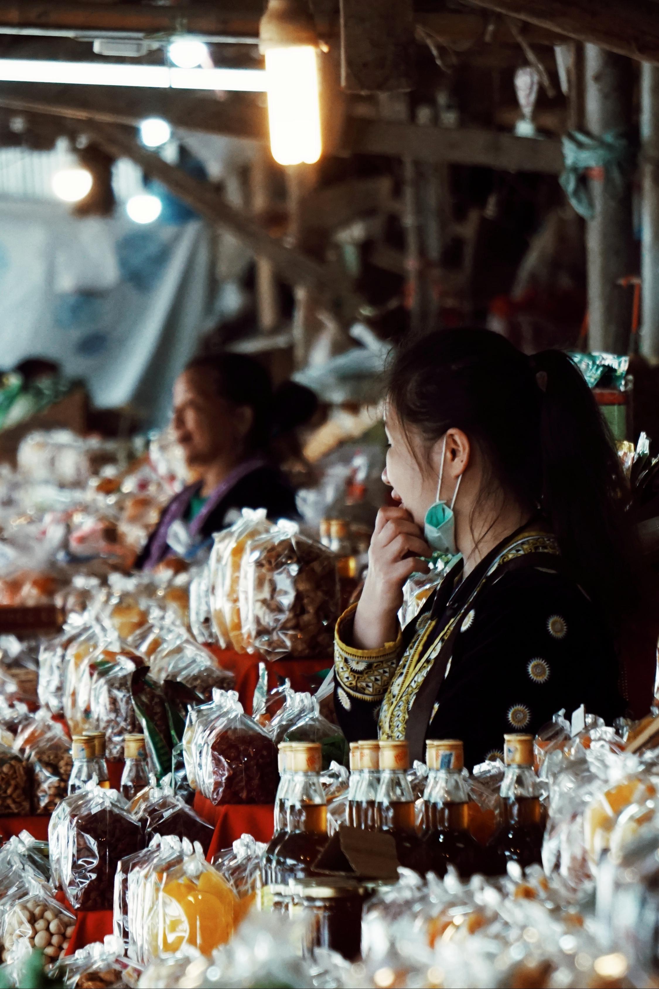 ้Hill tribe market