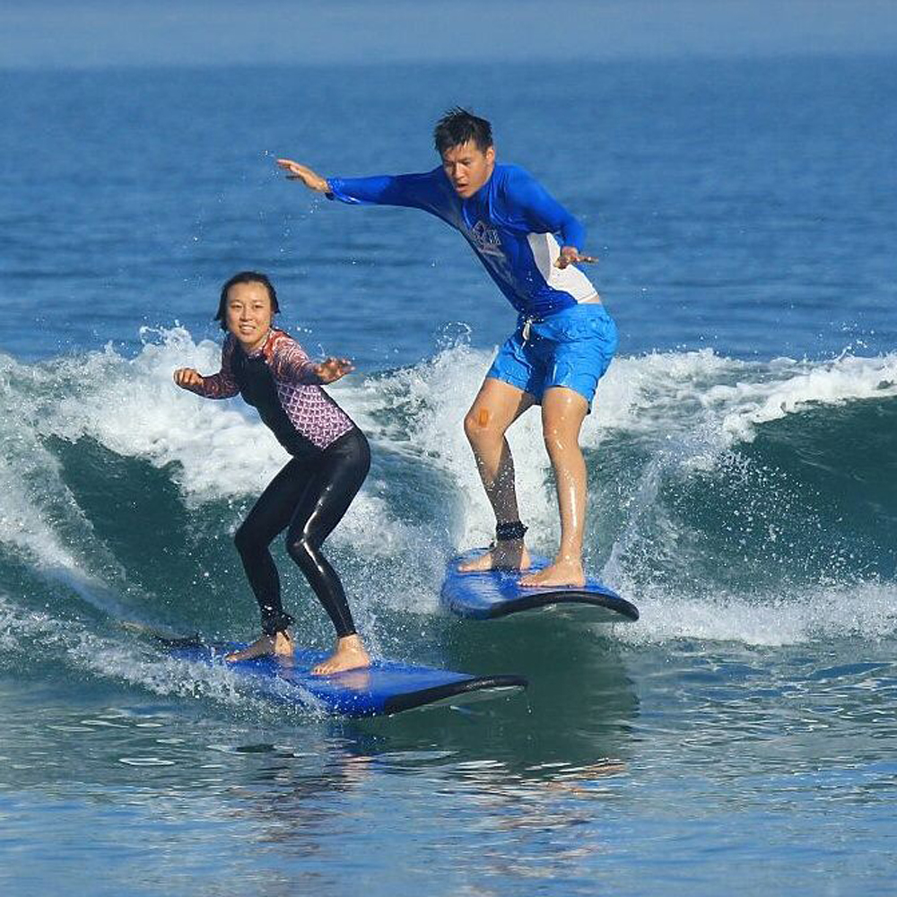Surf in Bali is awesome