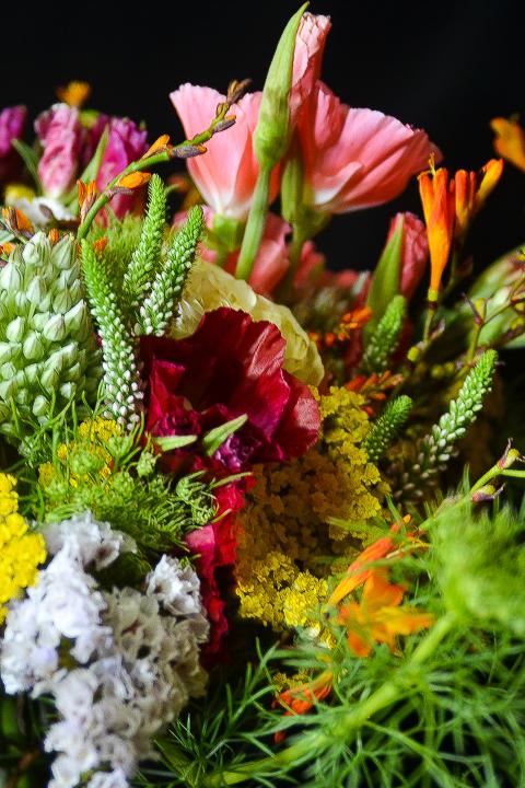 Bouquet de novia campestre