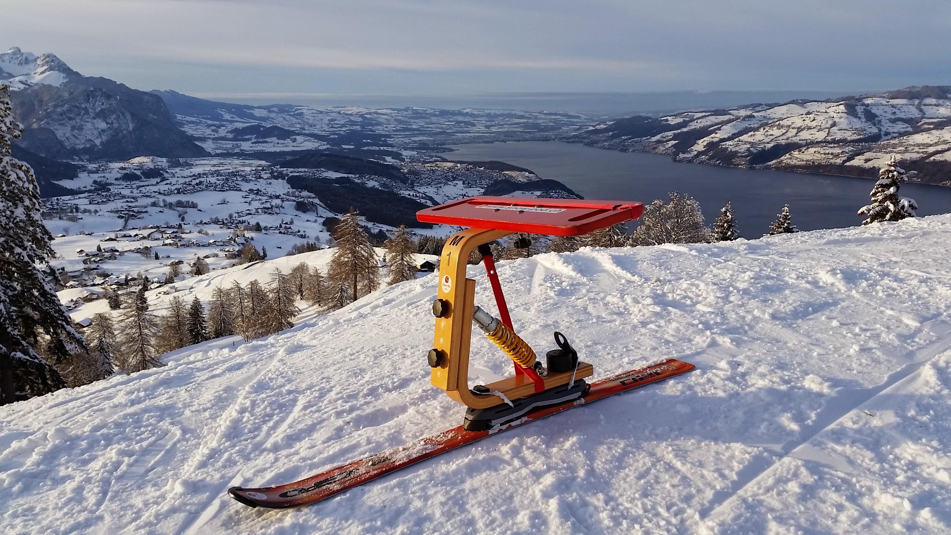Der einzigartige Snow-Pod Schlitten