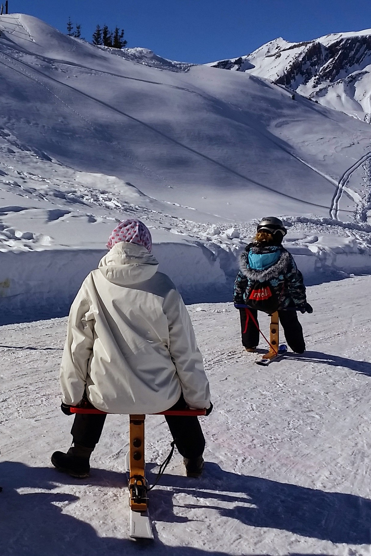 Unterwegs mit dem Snow-Pod