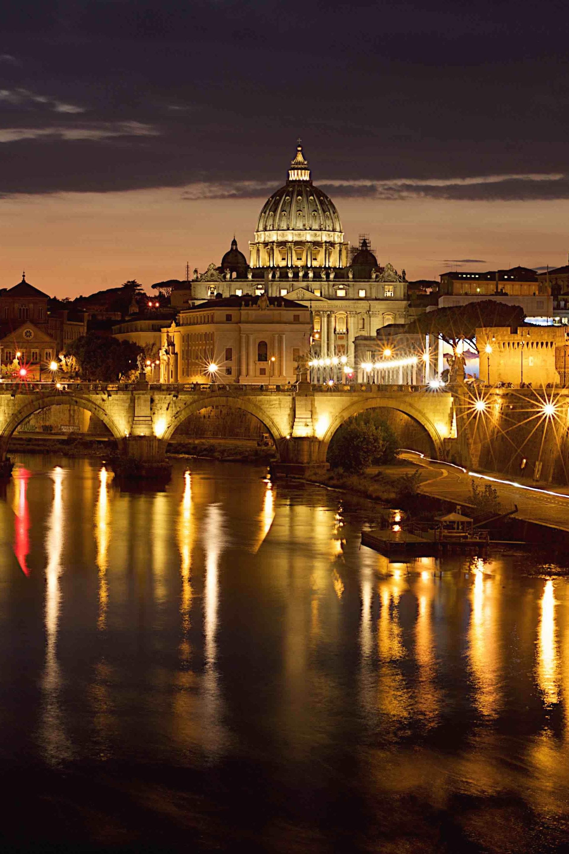 Magnificent St. Peter's twilight image