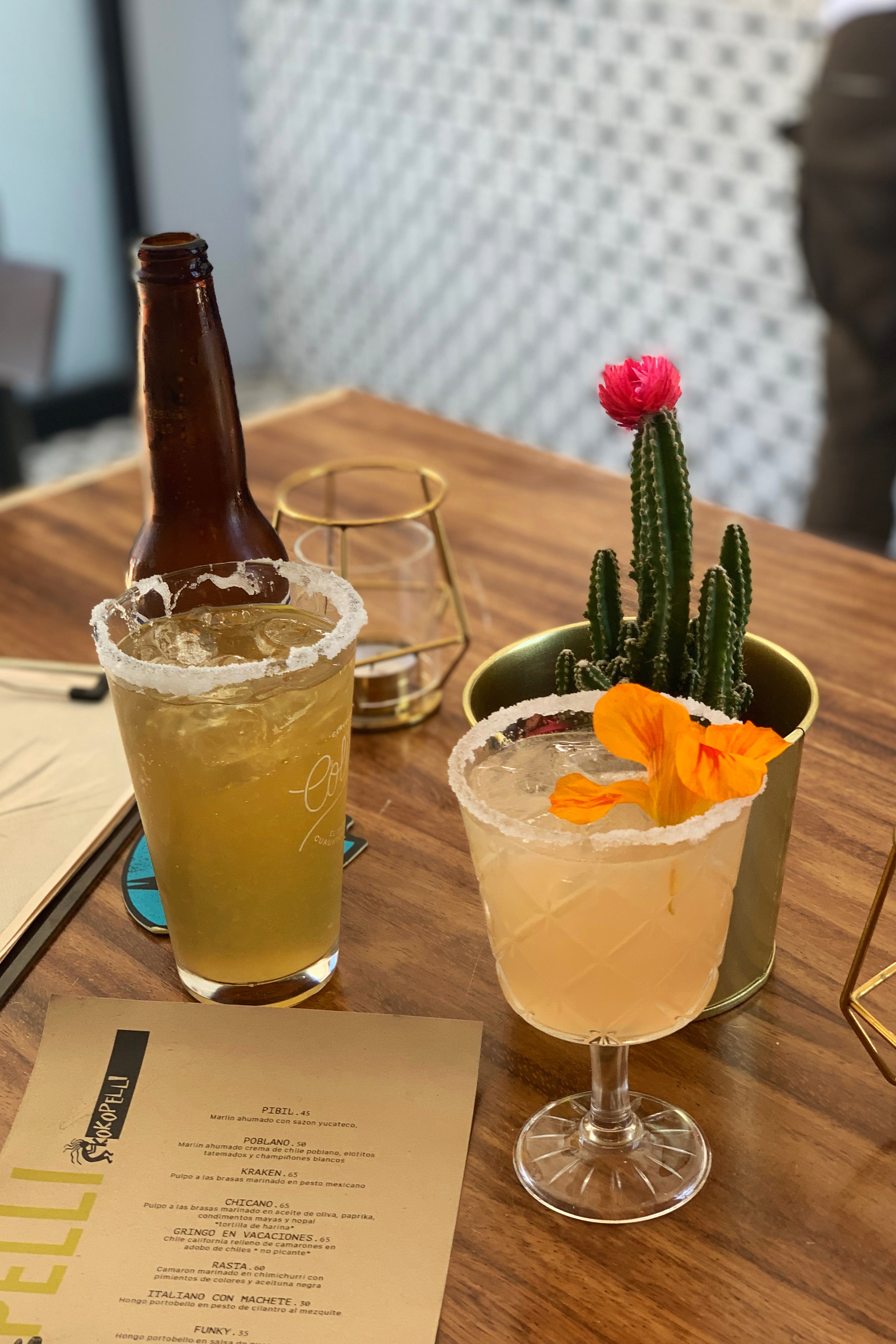 Local craft beer and mixed drinks