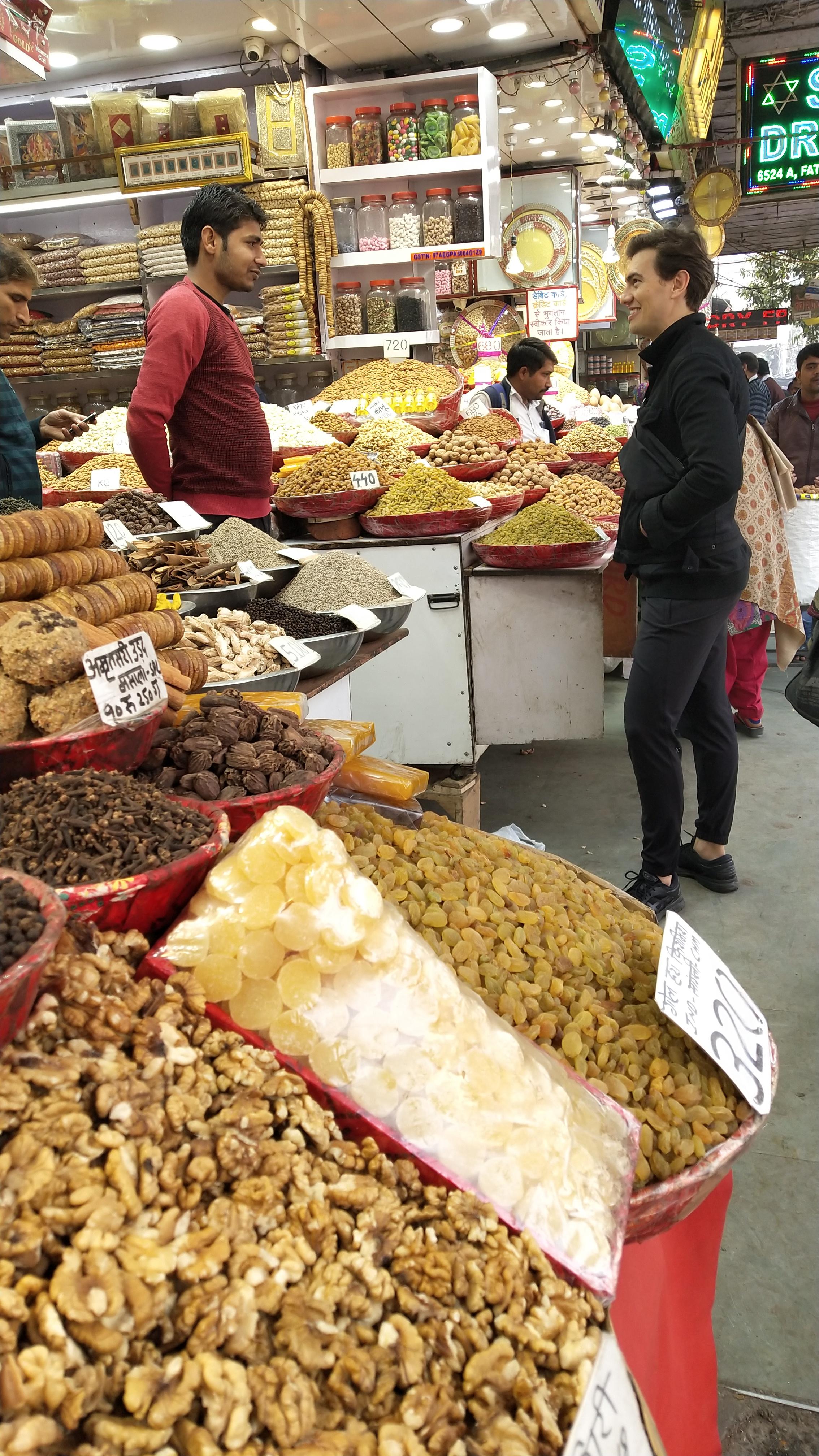 Dry fruits whole sale market