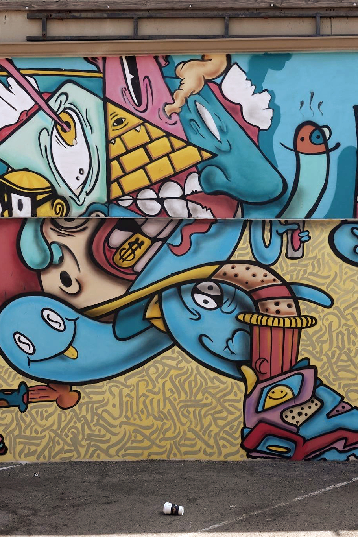 DTLA graffiti