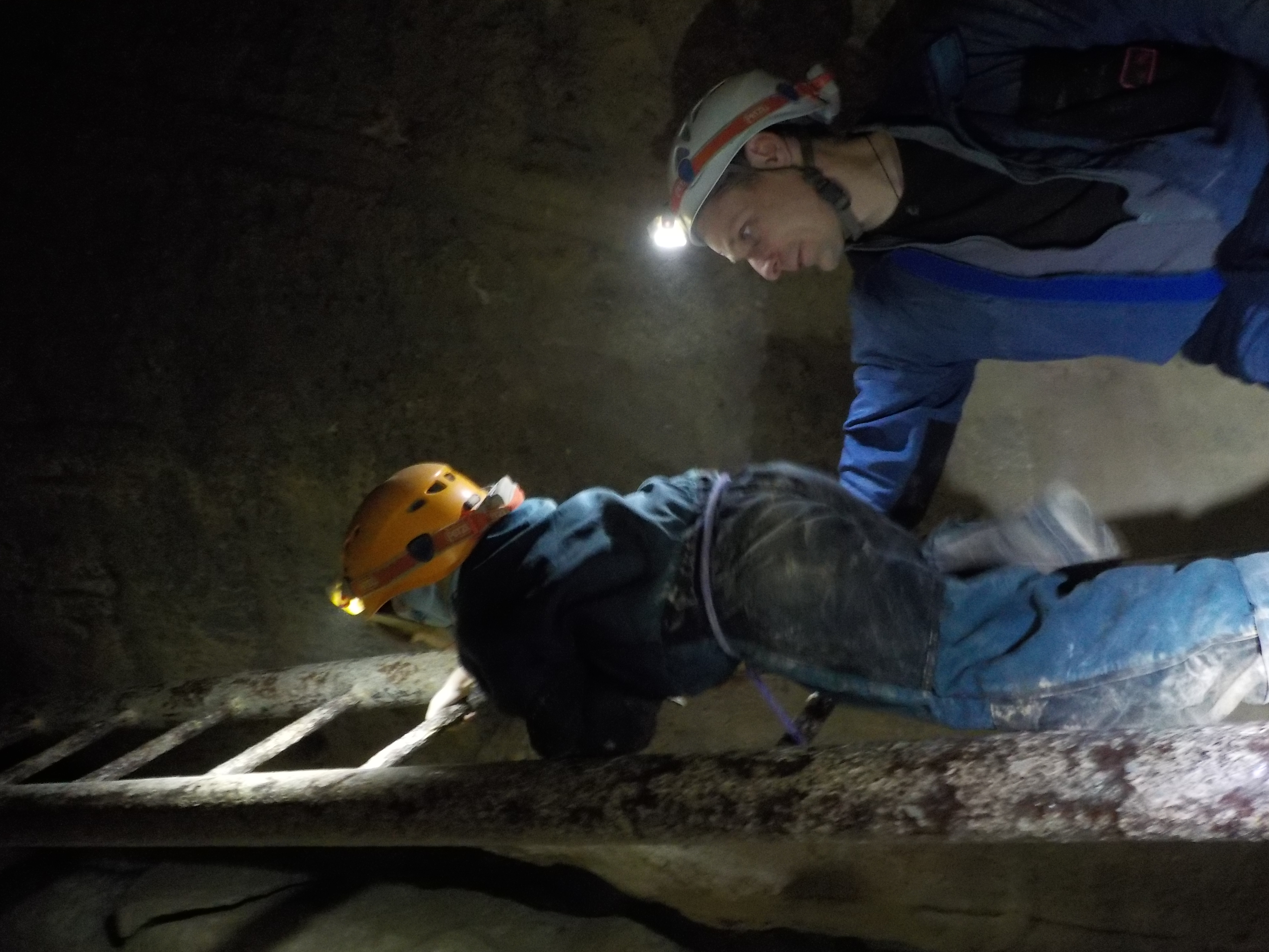 Caving is fun for kids, too!