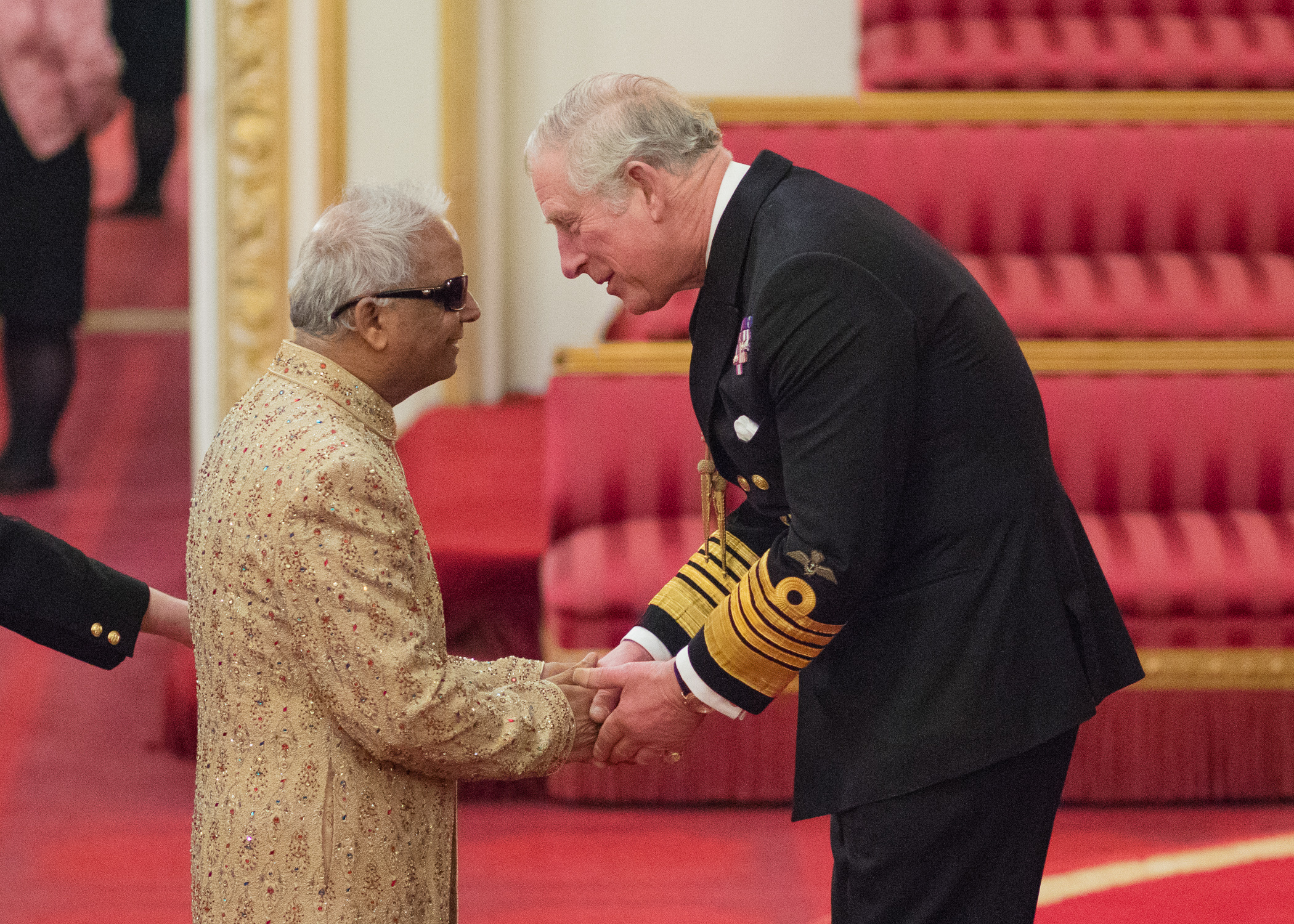 Receiving my OBE