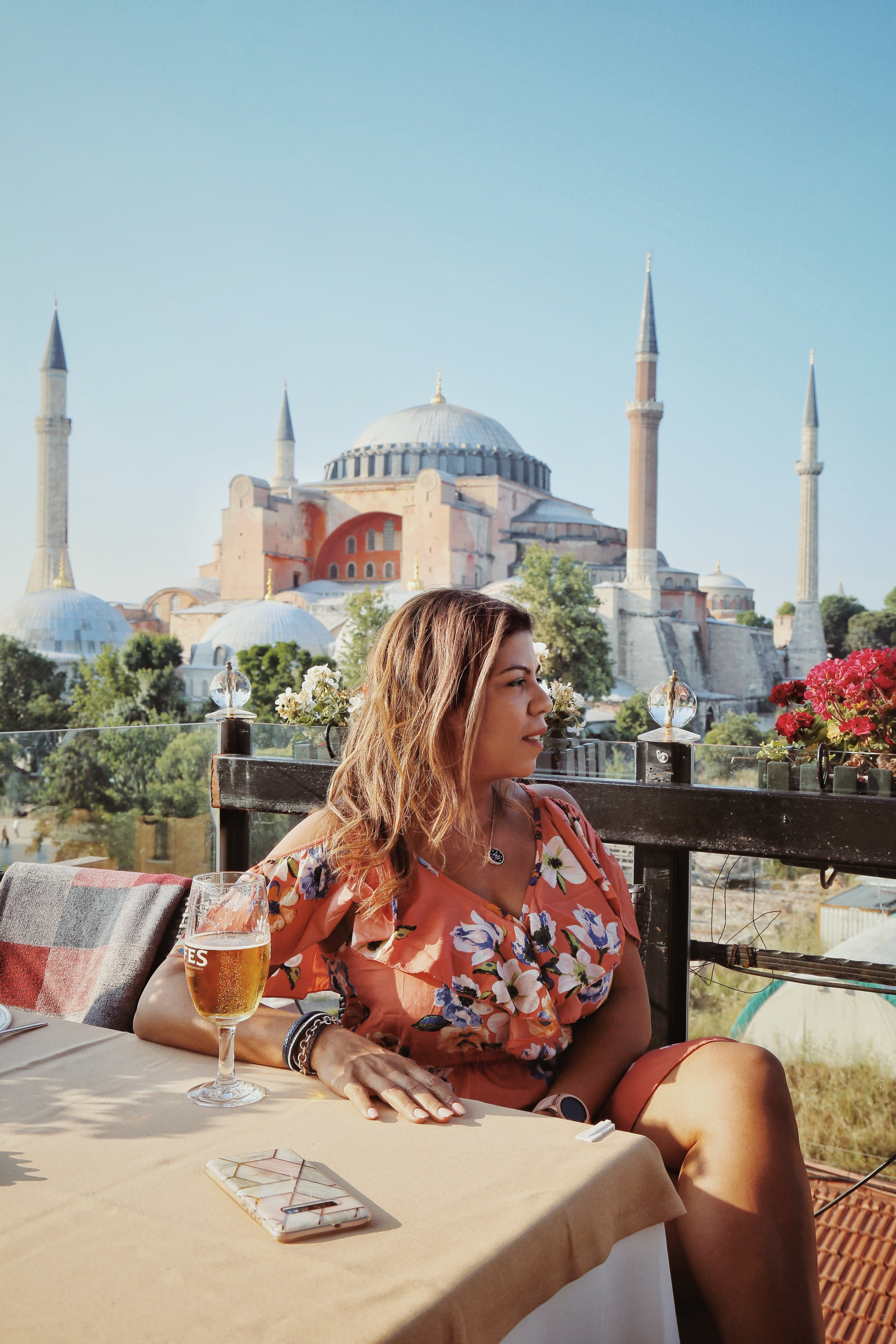 The Best Photo Spot for Hagia Sophia