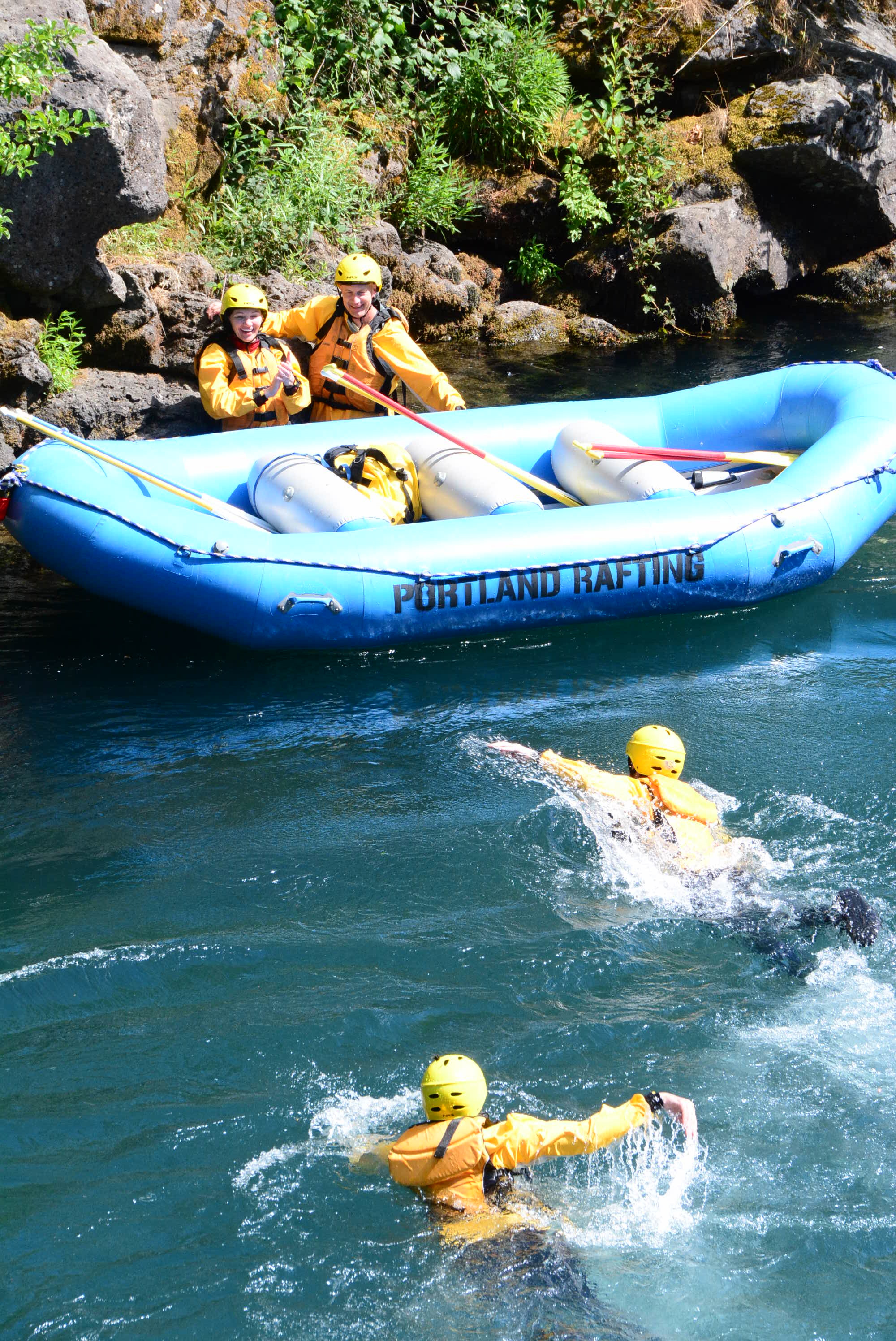 River fun for everyone!