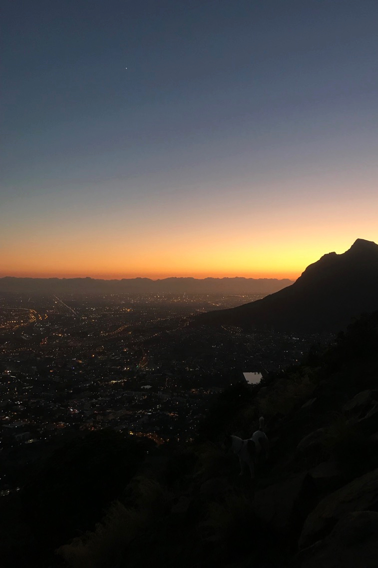 Magic sunrise from the top