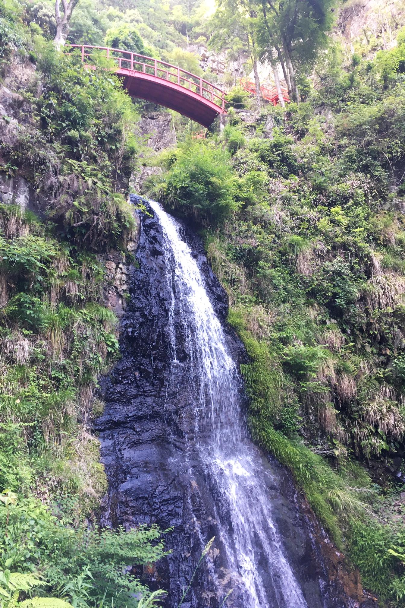 Refreshing waterfalls walk