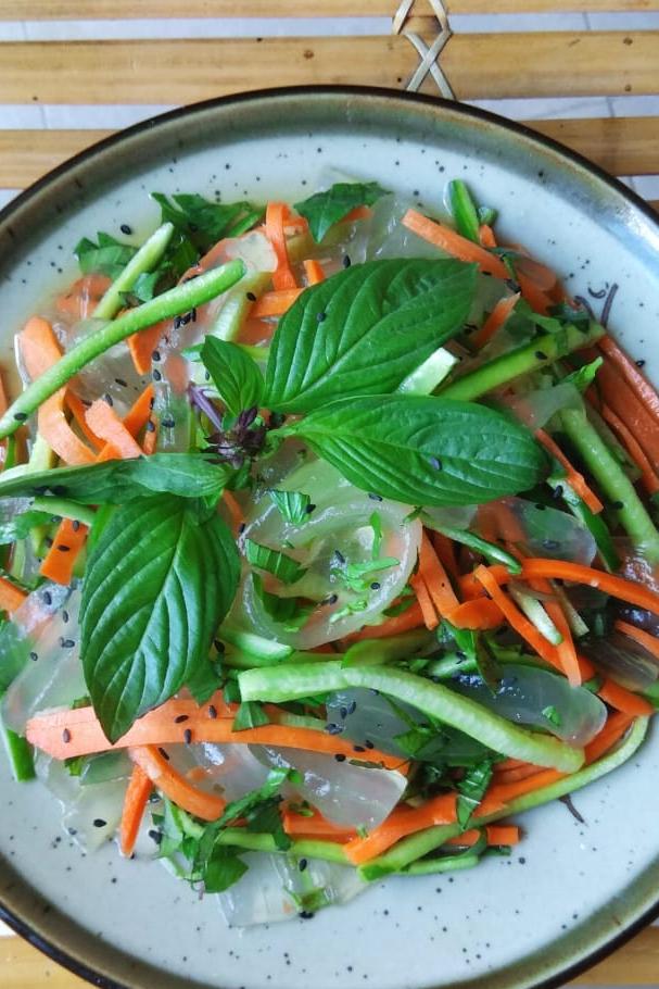 Aloe Vera Salad with Fish-sauce