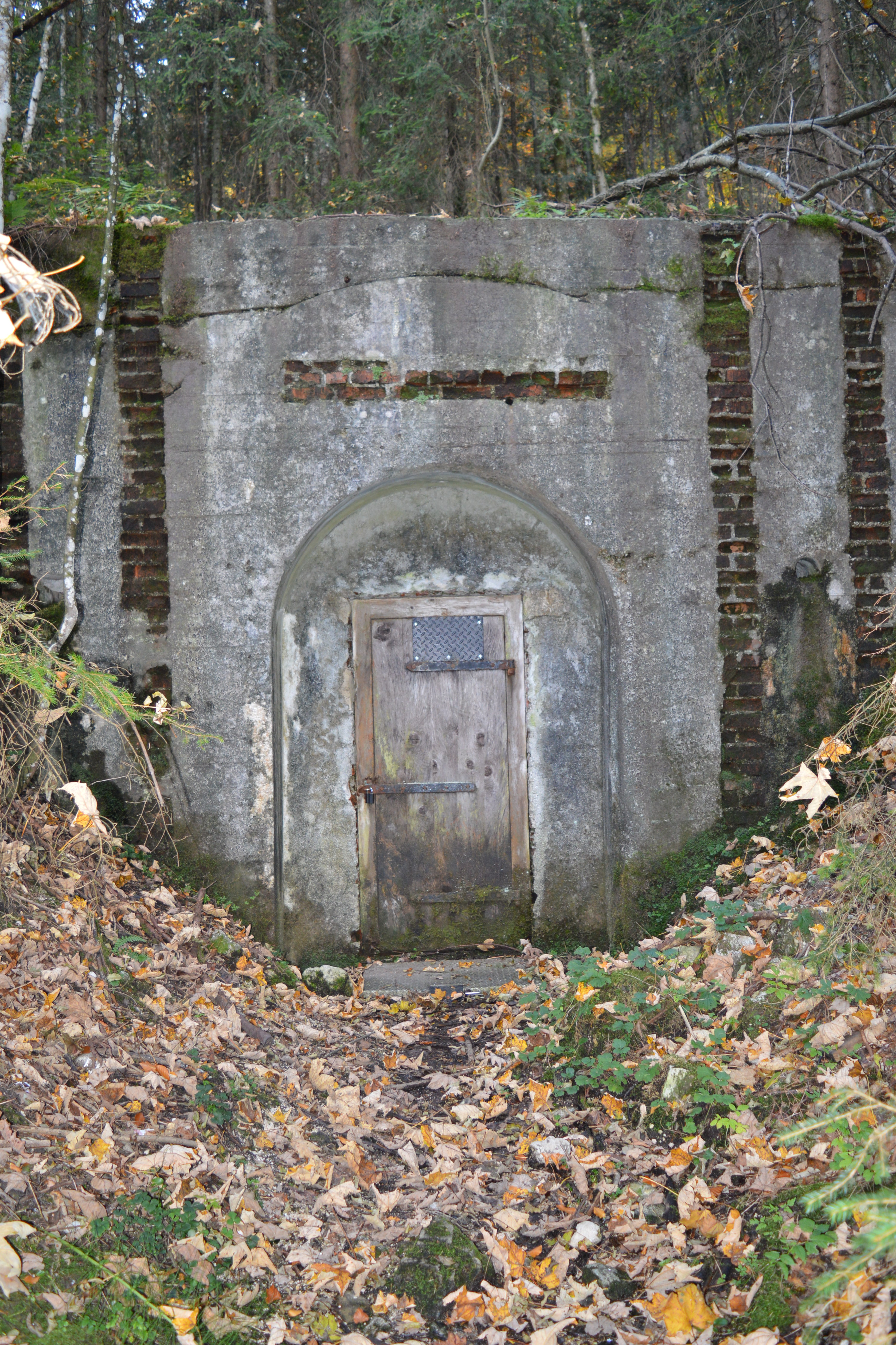 WWII Tunnel Entrance