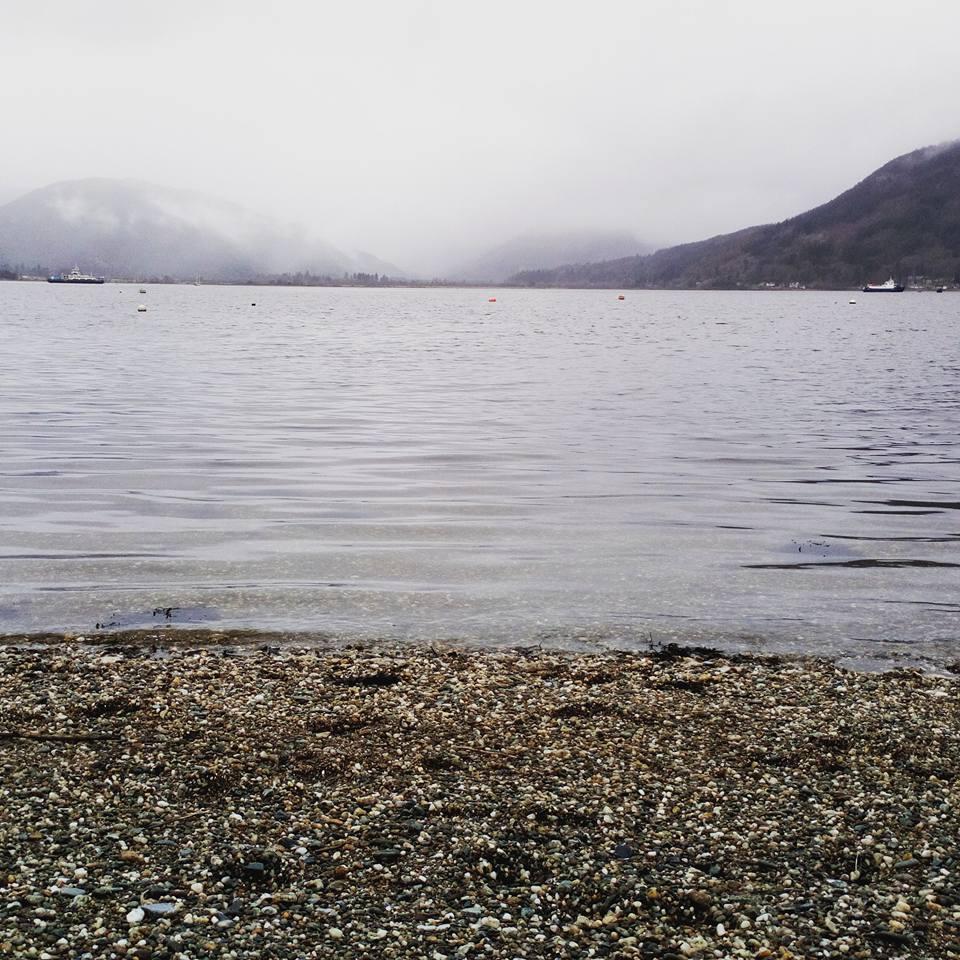 Holy Loch on a misty day