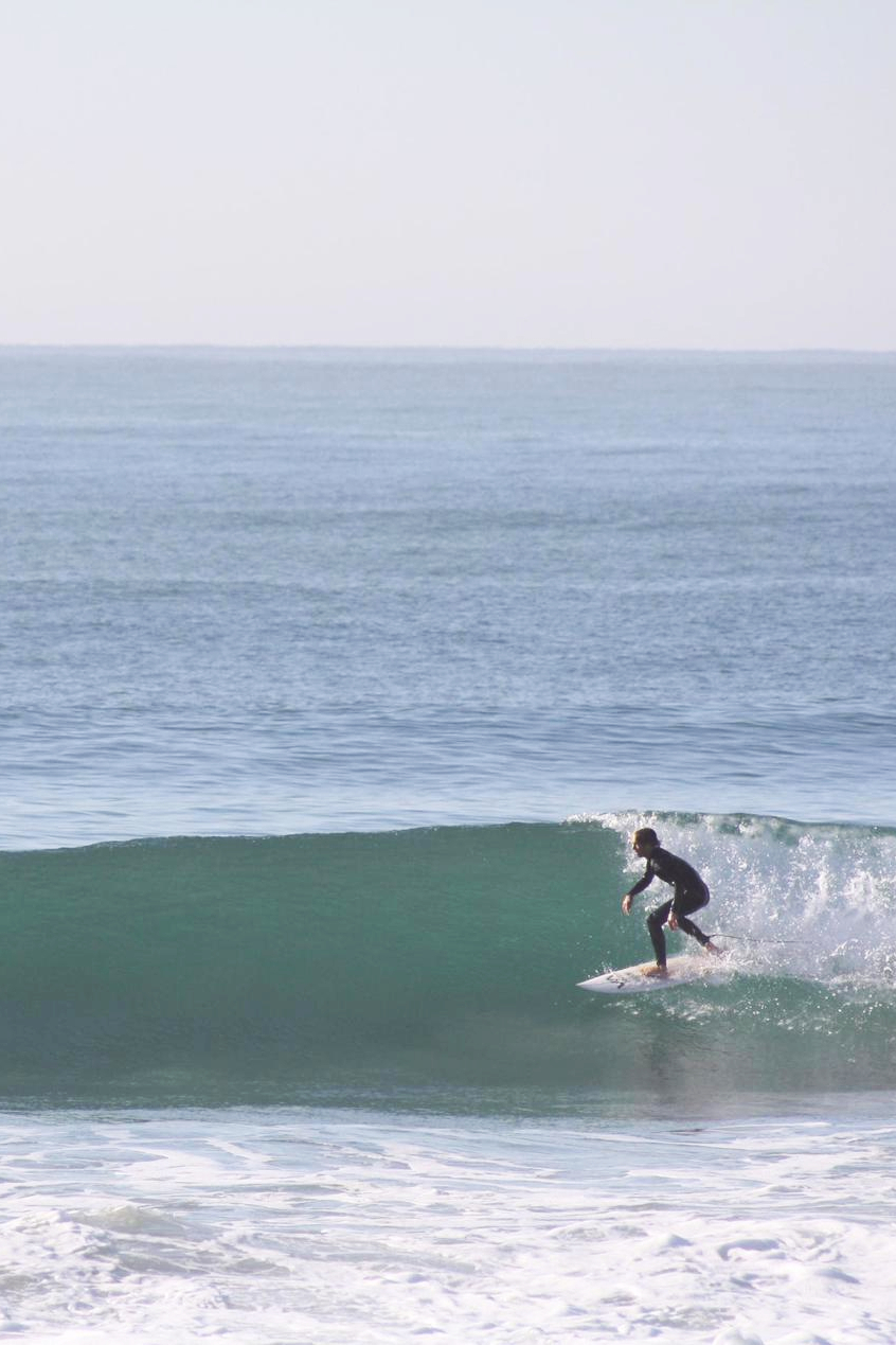 Took Daan from Germany to a fun wave
