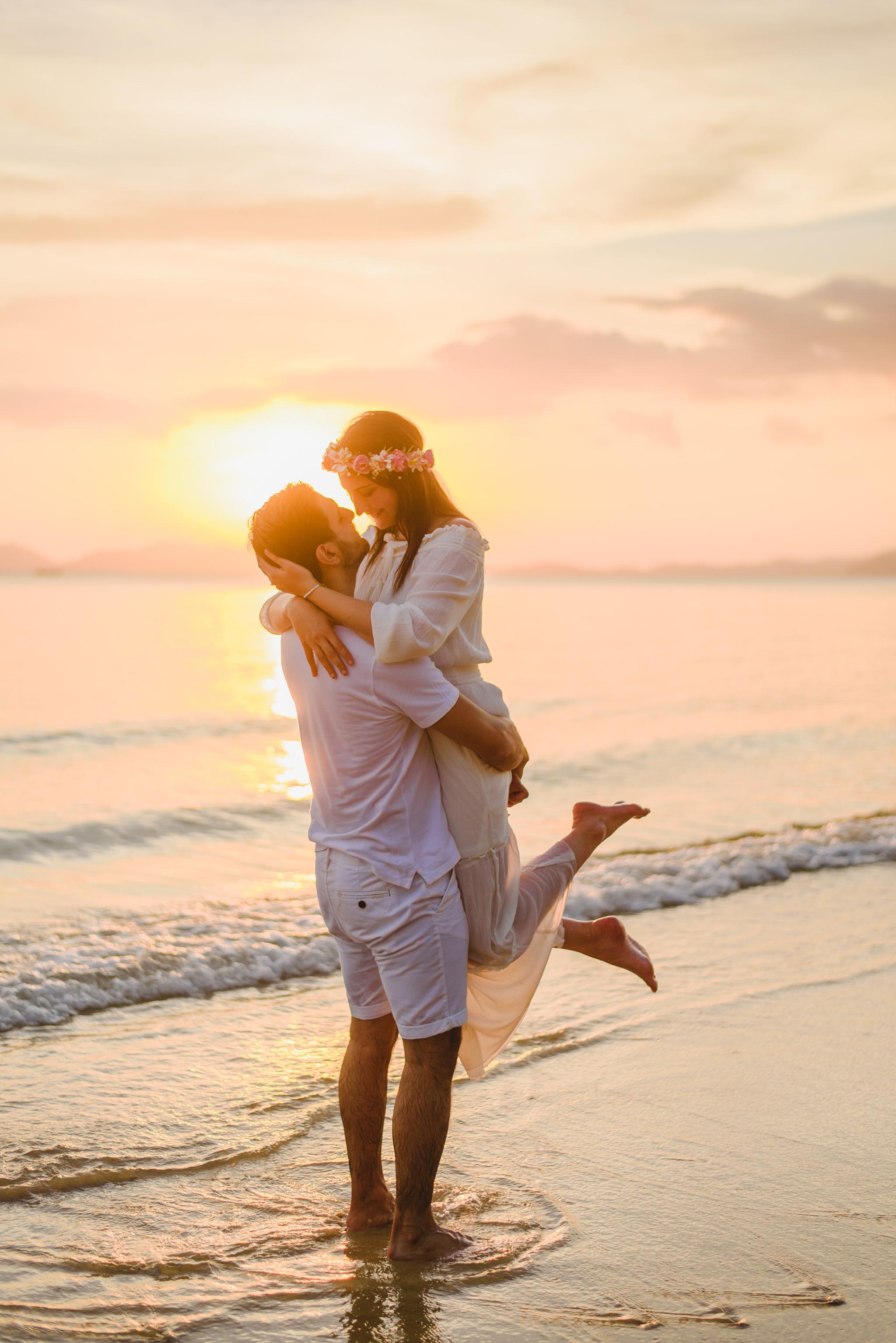 Honeymoon photography in Krabi