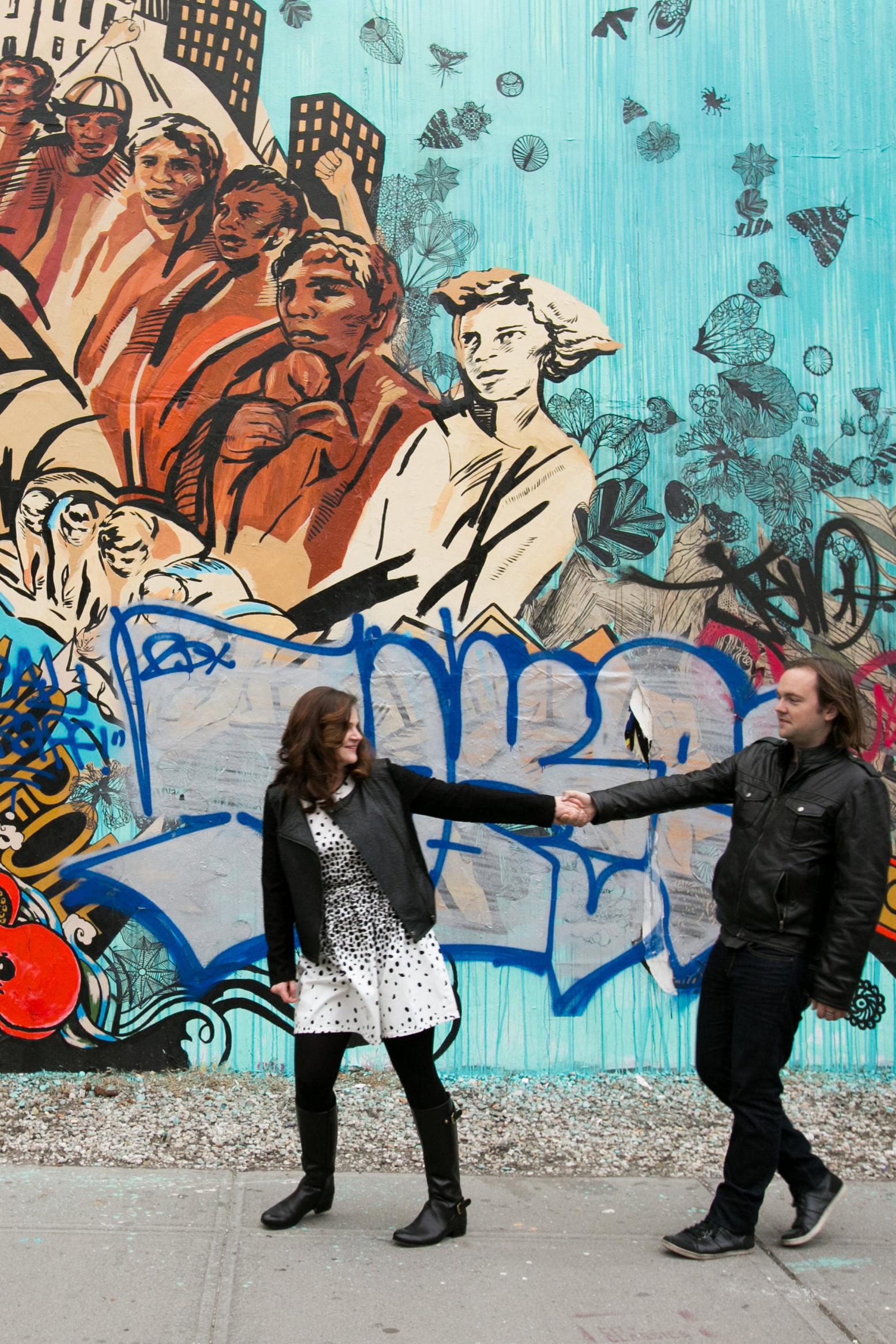 Brooklyn Murals in Williamsburg/Bushwick