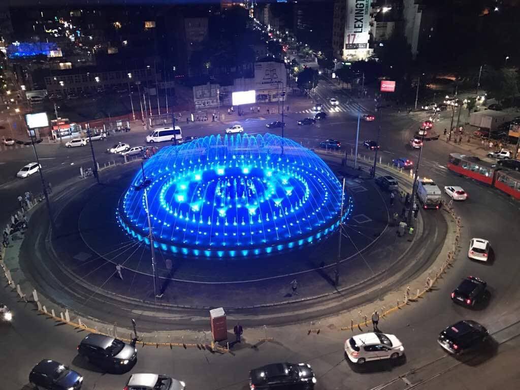 Slavija Musical Fountain