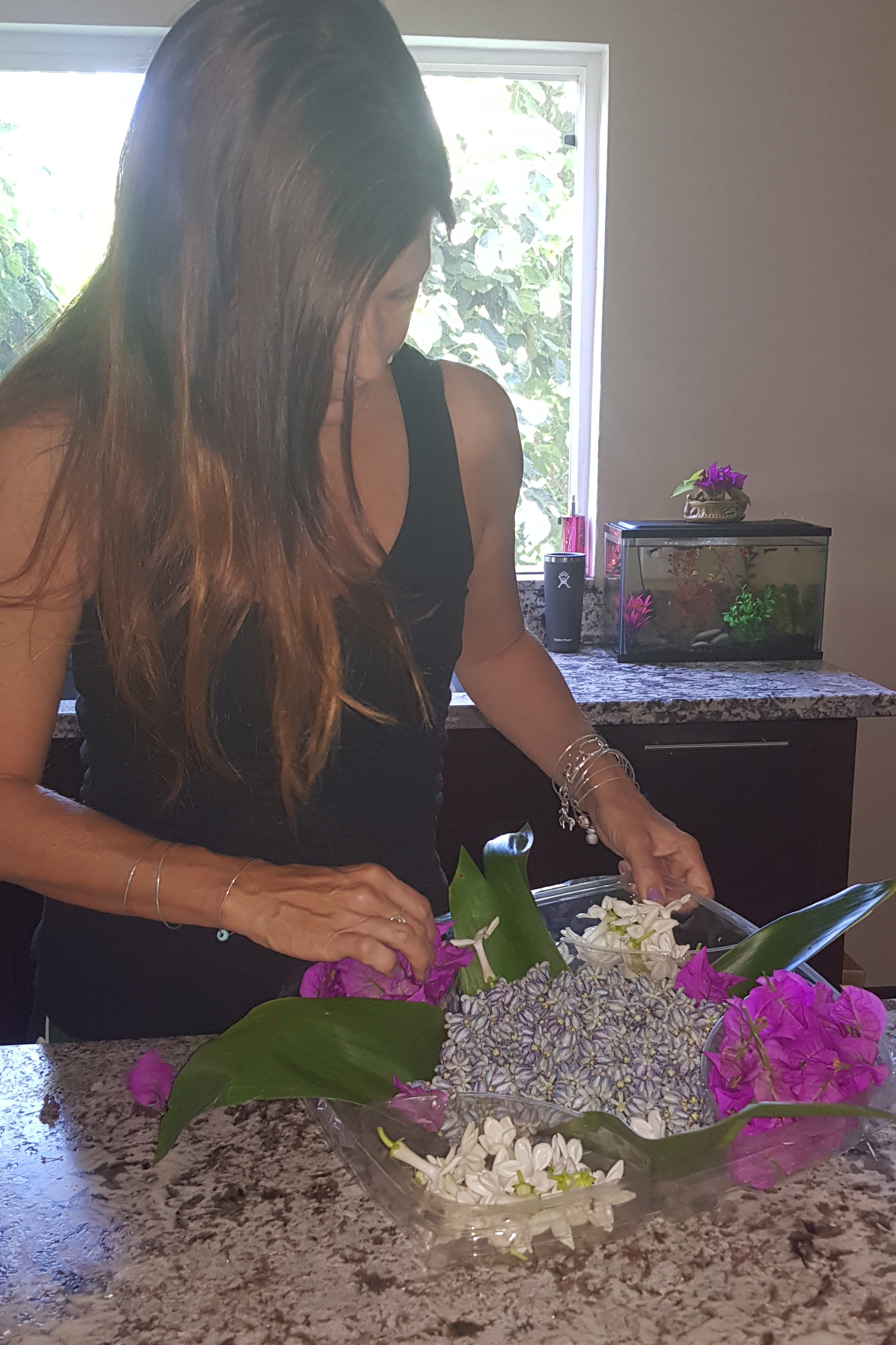 flowers for lei