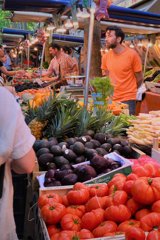 A wonderful local market