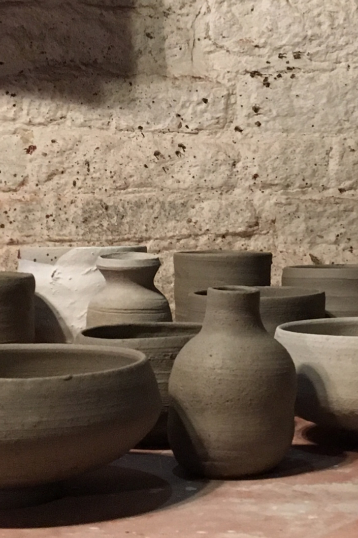 Pots from a session