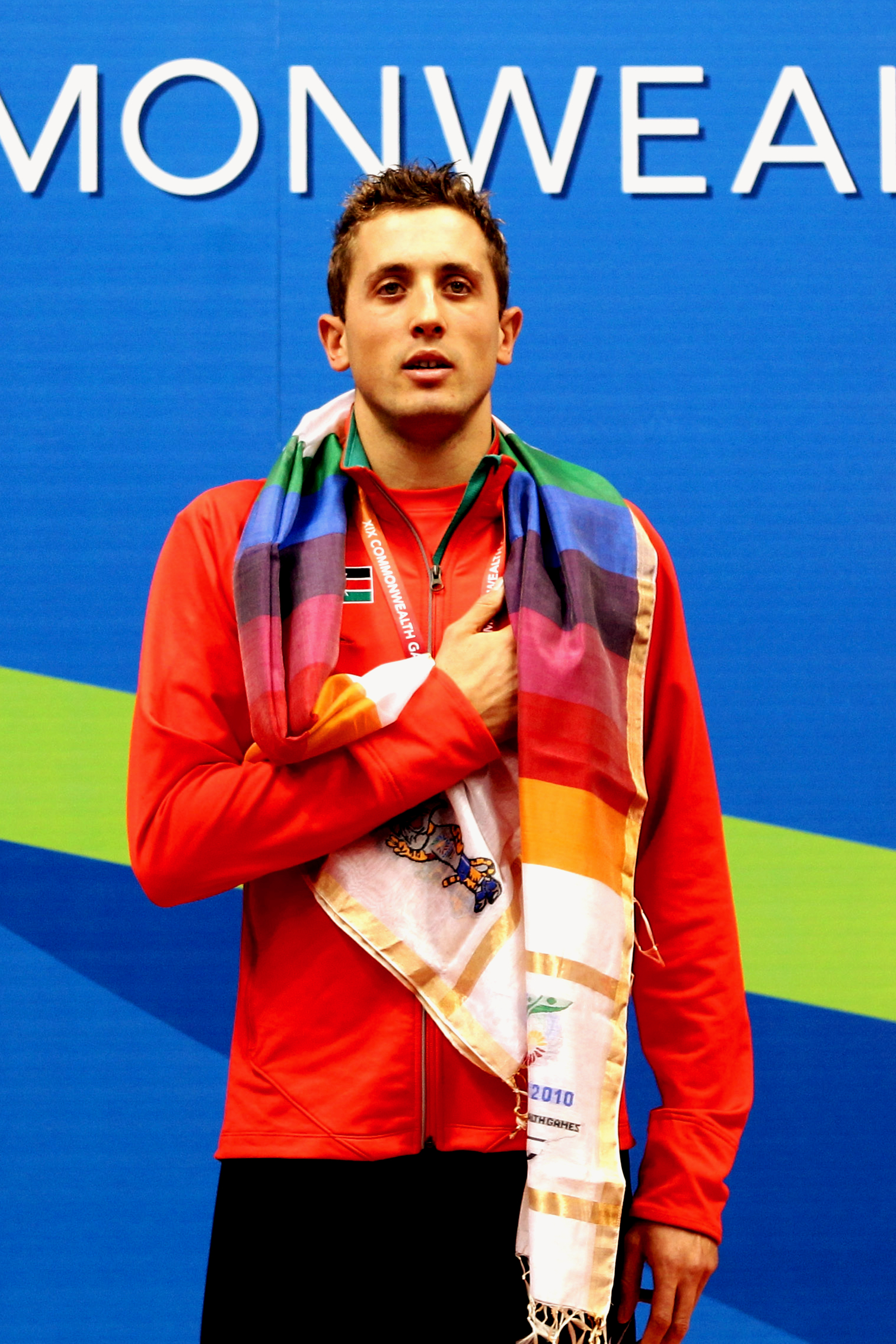 Gold Medal at the Commowealth Games