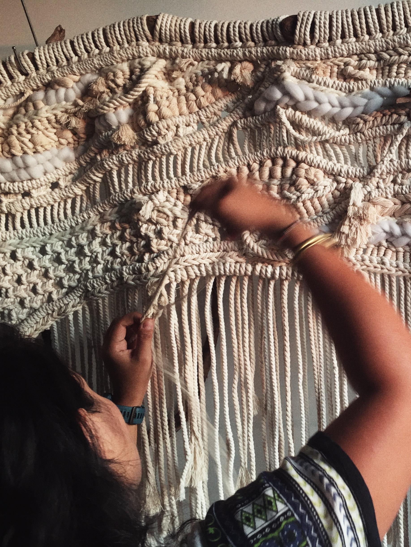 exploring texture, dimension & scale