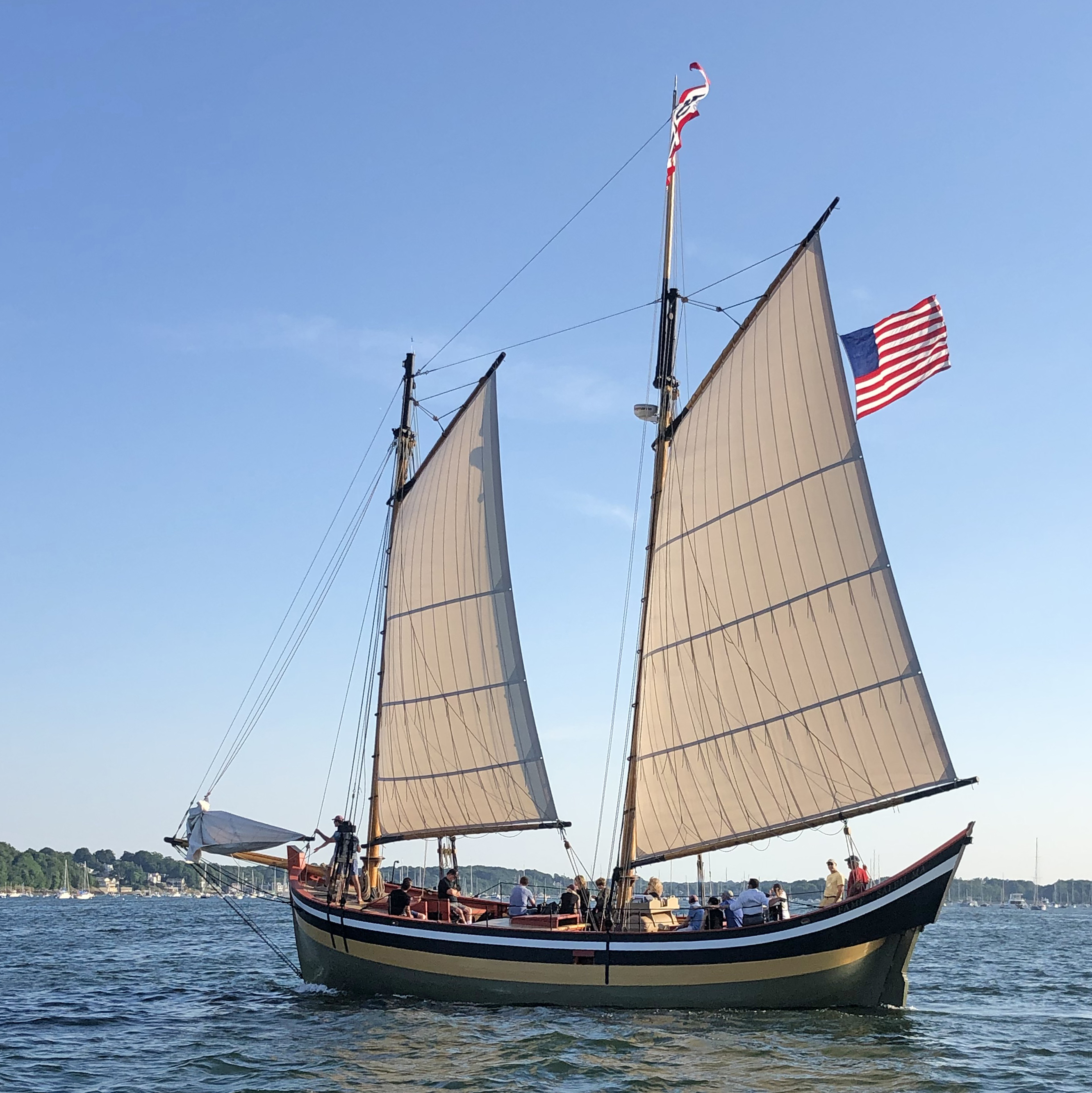 Help raise the sails!