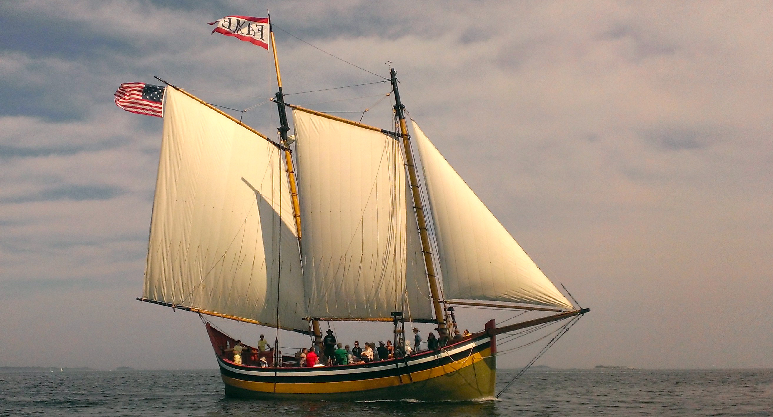 Replica of an 1812 privateer
