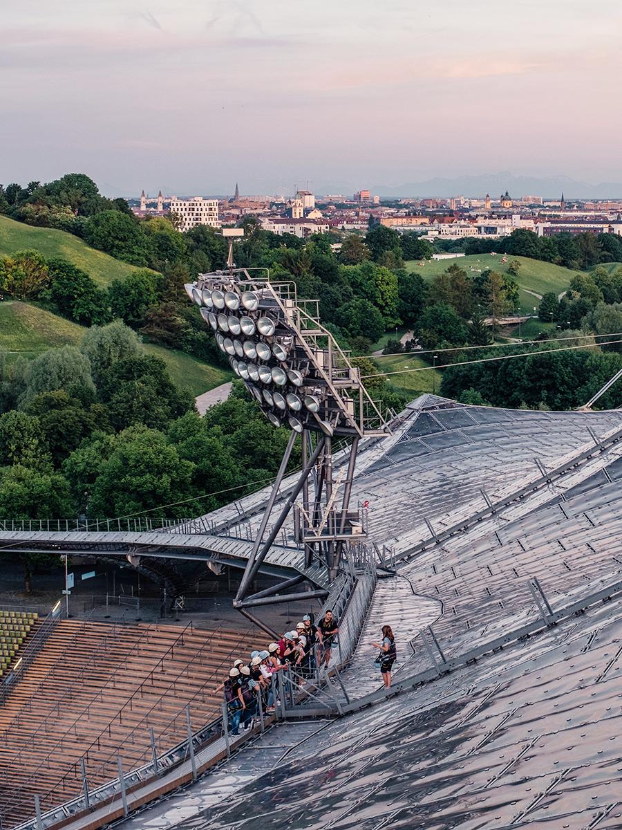 Über die Dächer von München