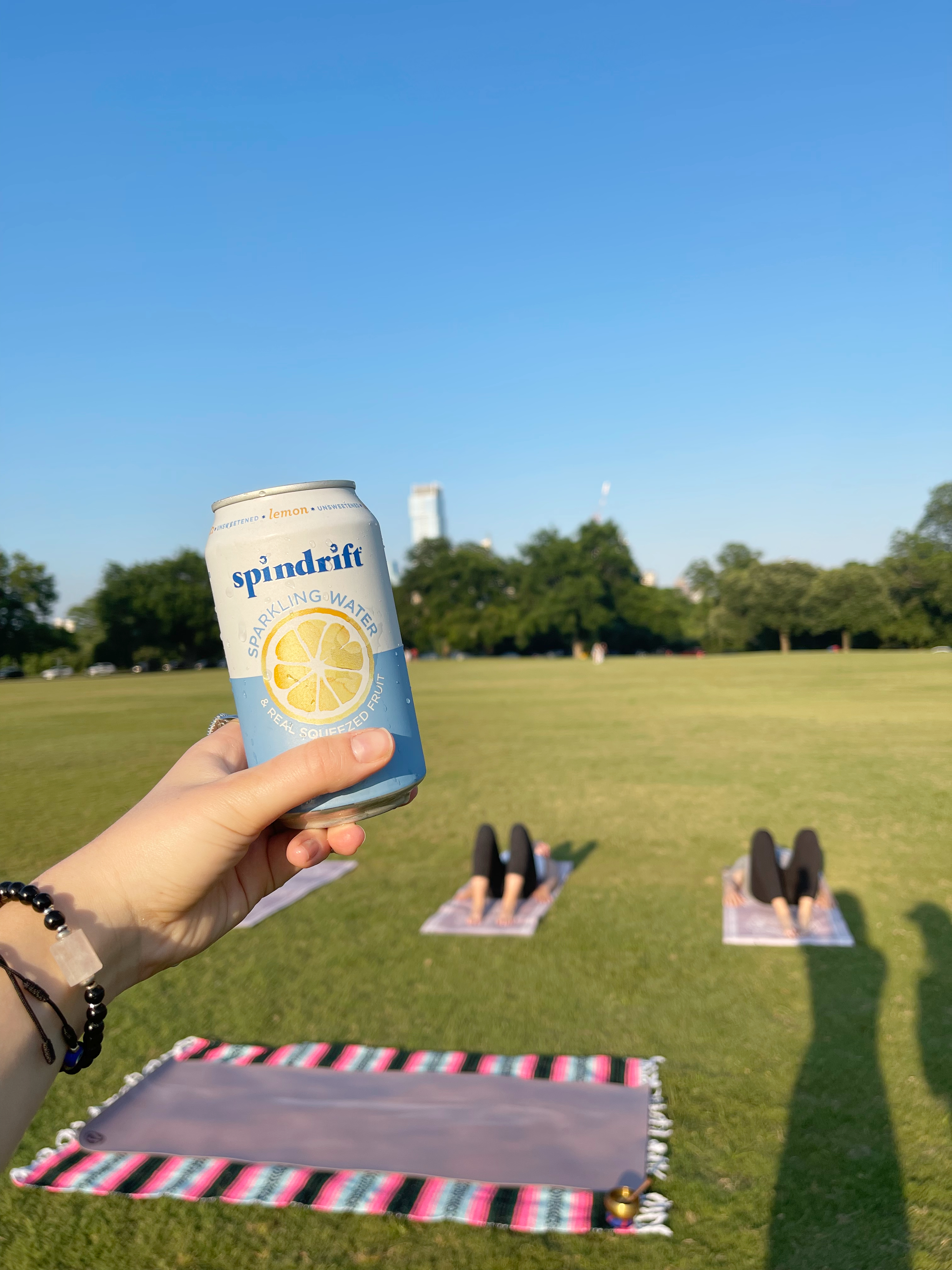 refreshing drinks to cool our yoga tapas
