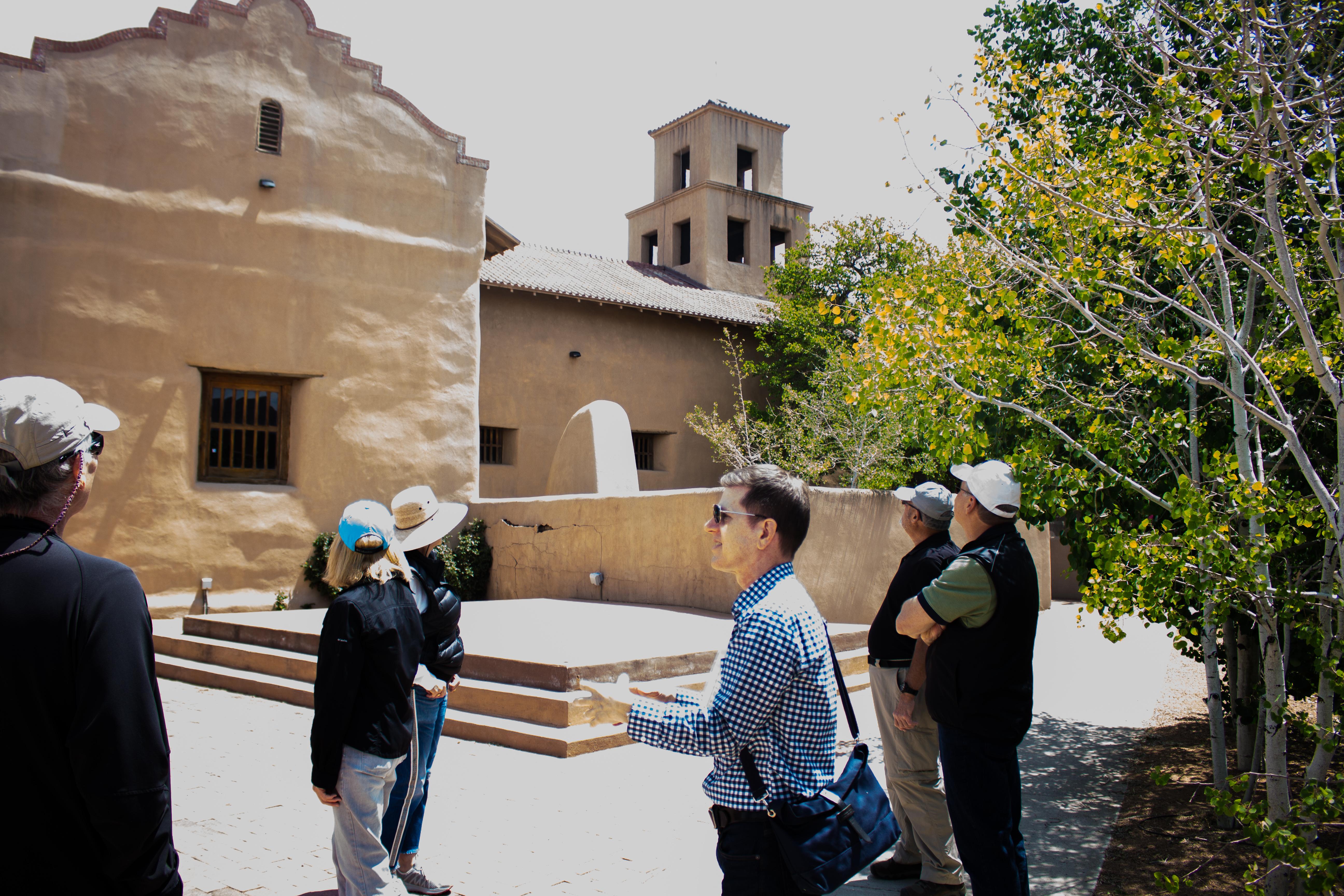 Exploring the Santuario de Guadalupe