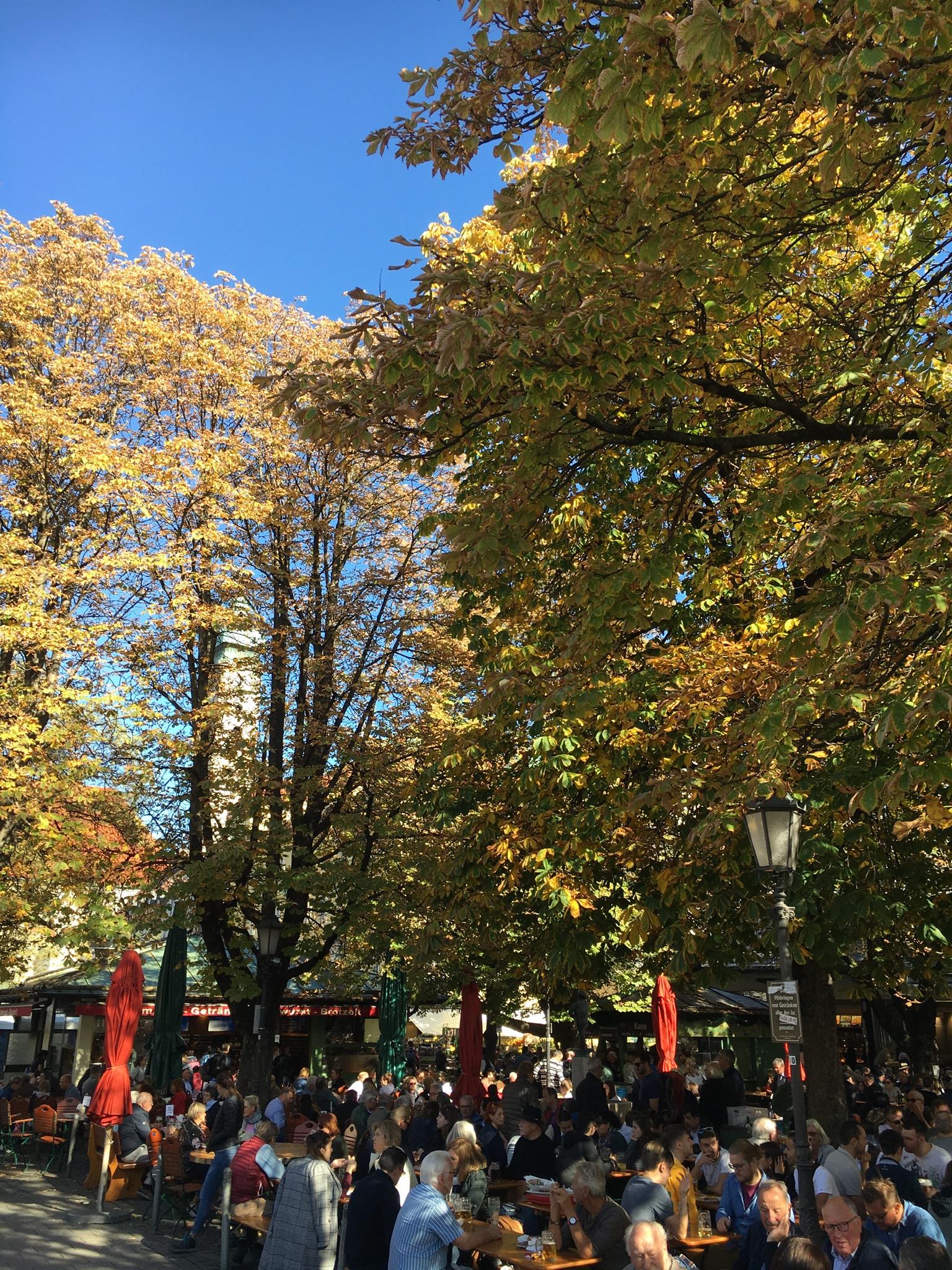 Autumnal Victualien Beer Garden