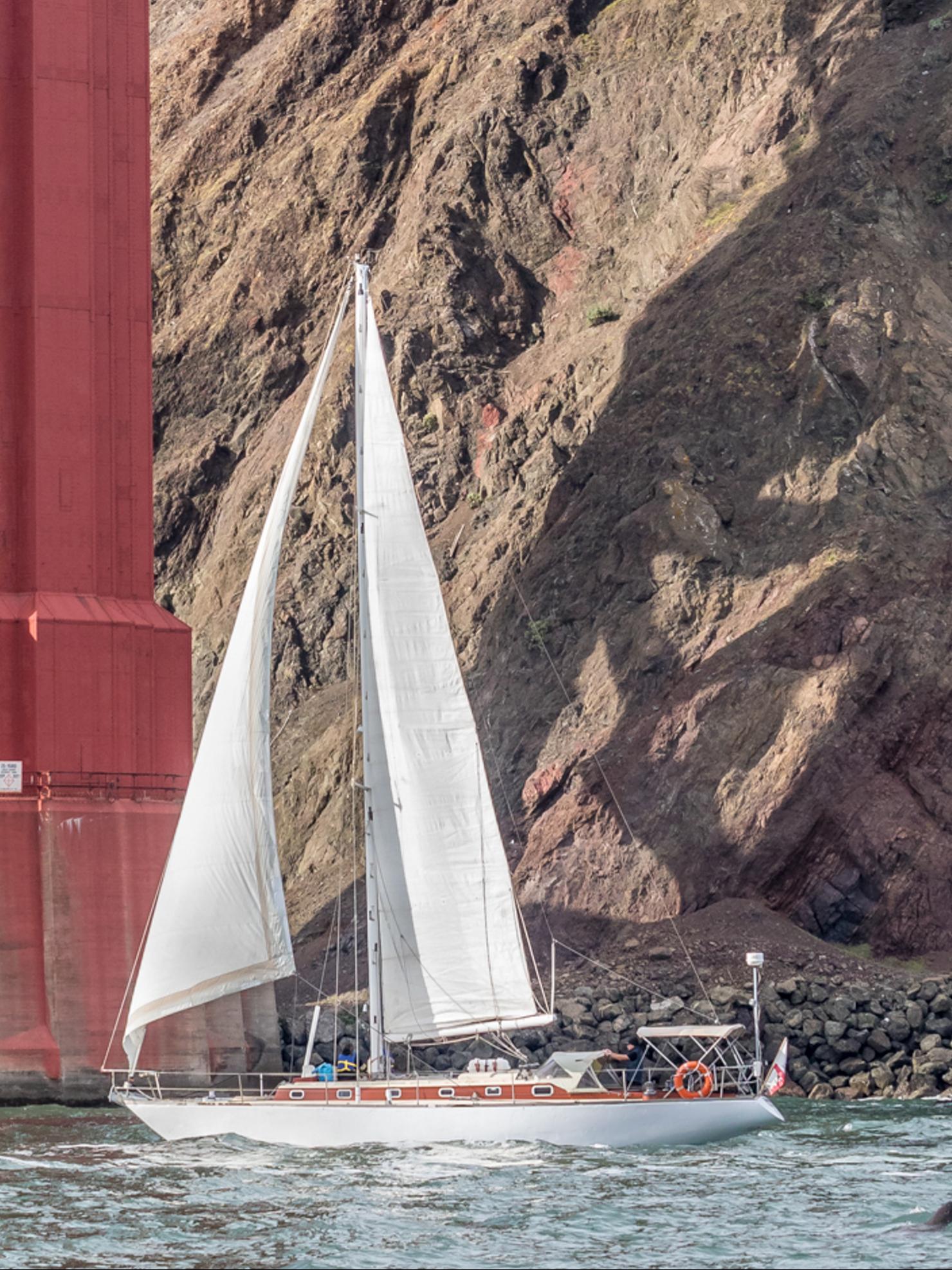 Alsager under the Golden Gate!