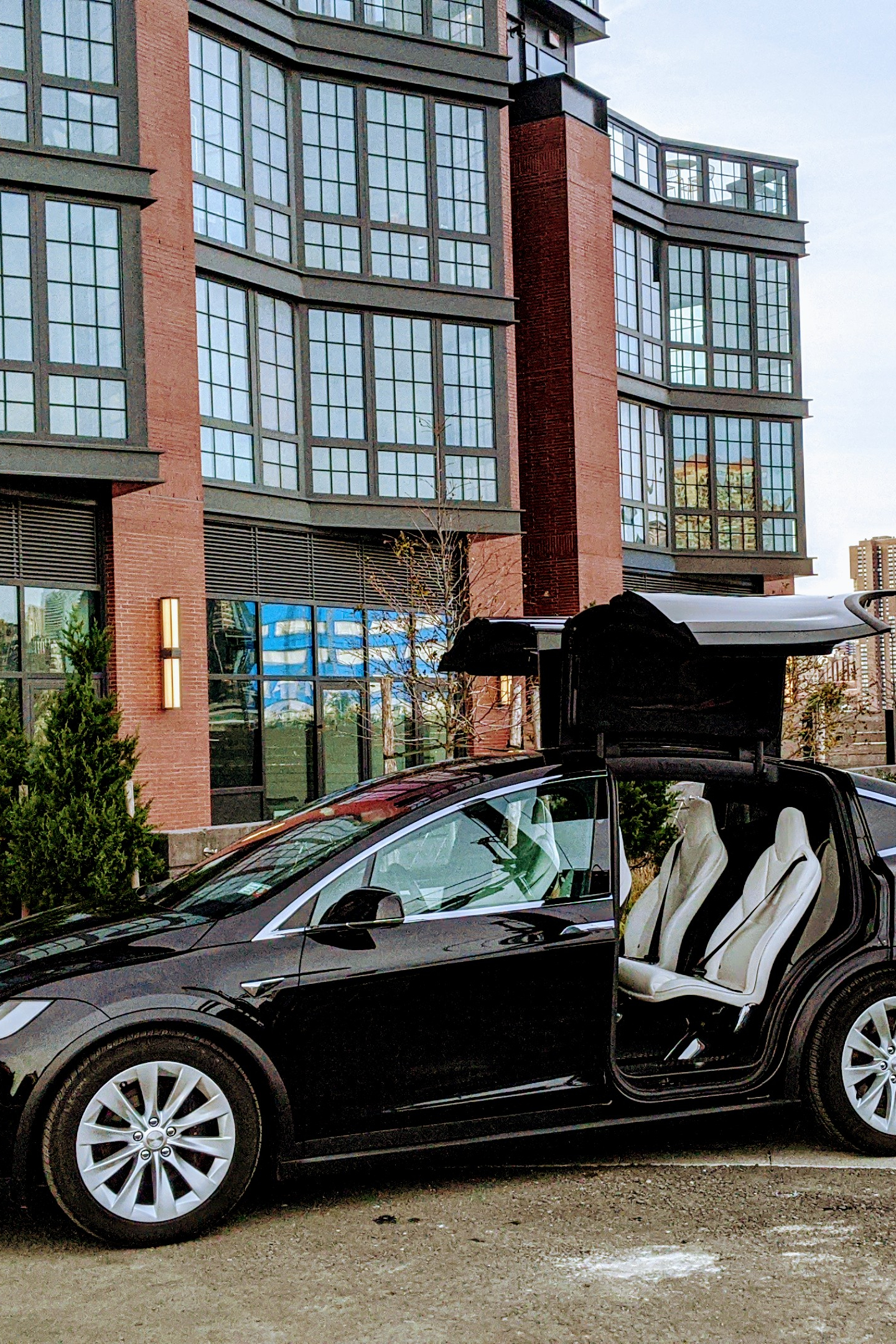 Model X in Brooklyn waiting for you...