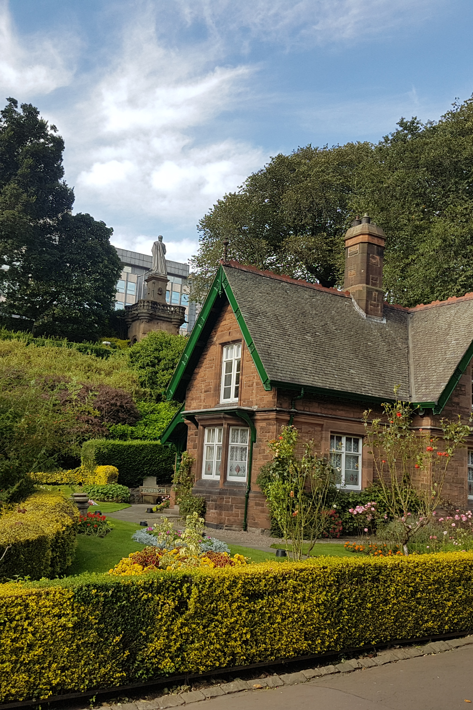 Gardeners Cottage, near our start point