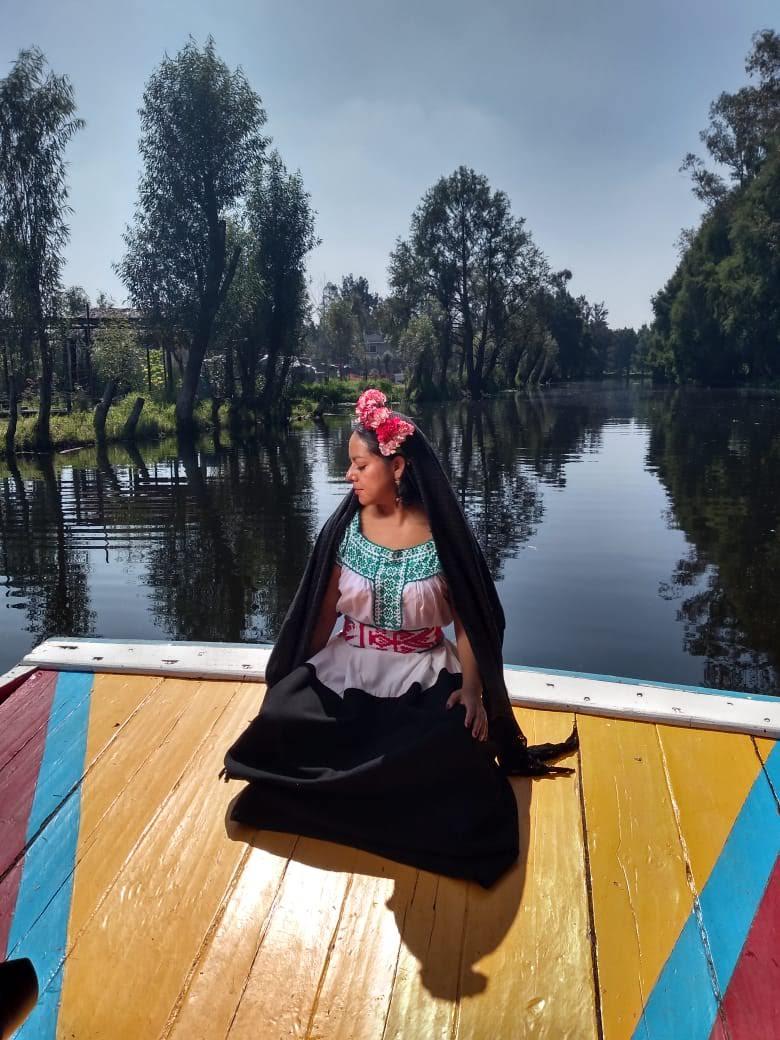 Los hermosos paisajes de Xochimilco y tu