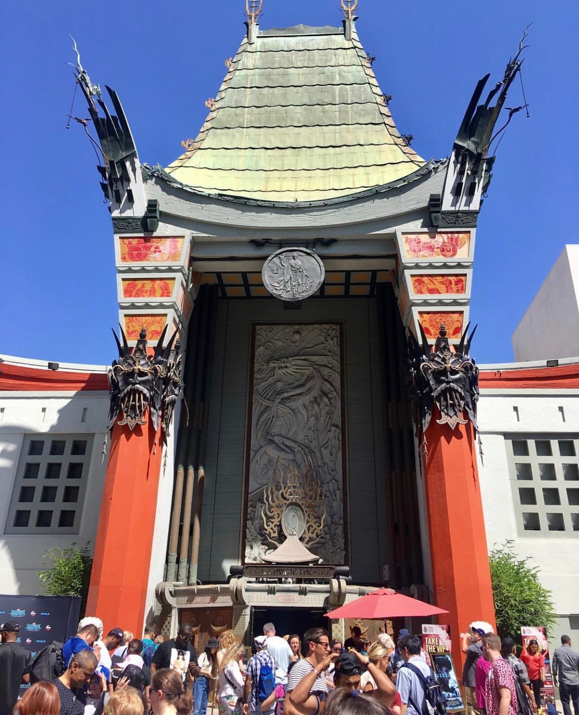 The Chinese Theatre is spectacular!