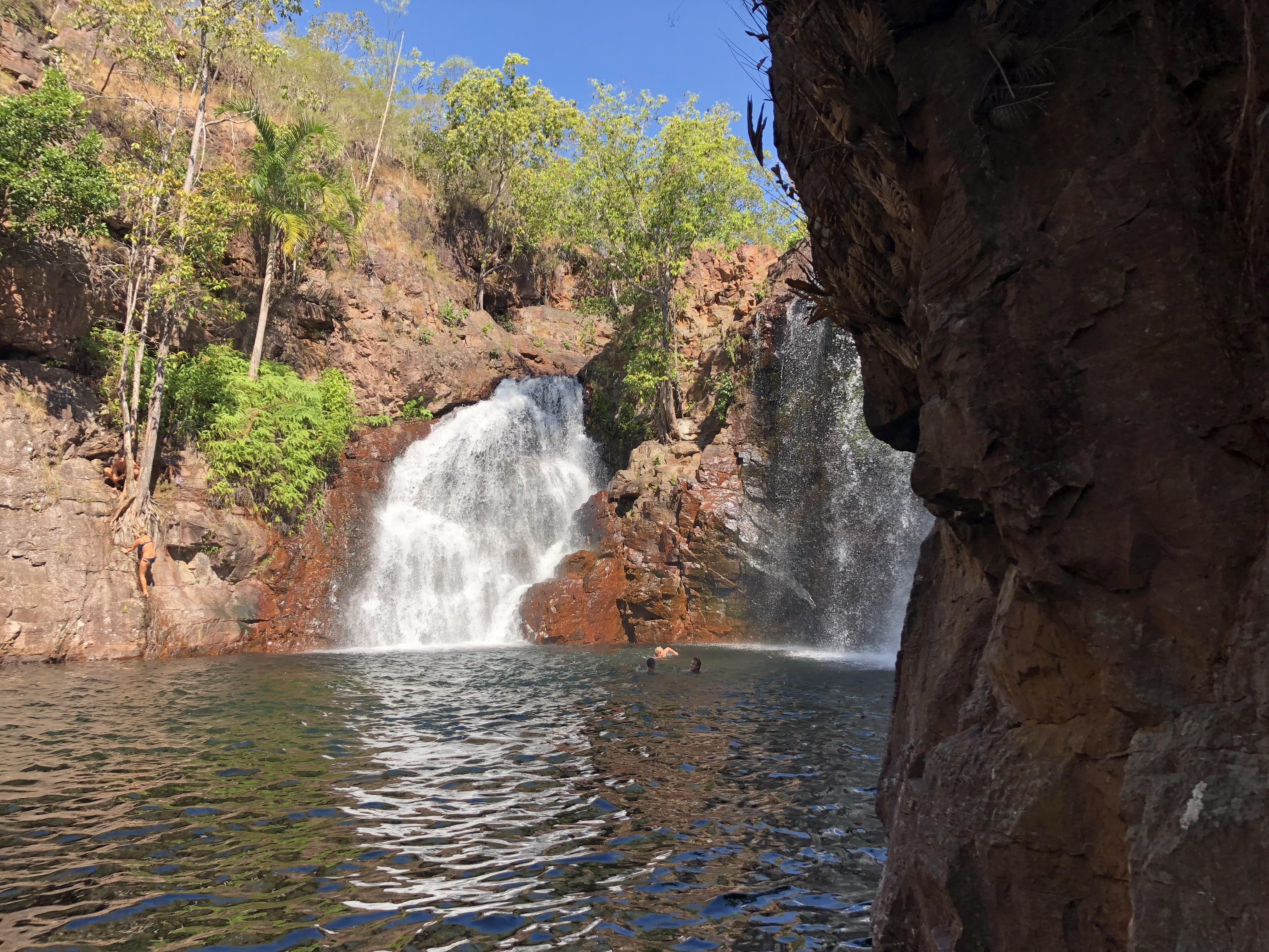 Florence Falls Plunge Pool